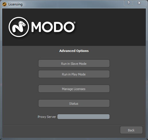 Q100304: How to activate a Modo login-based license from behind a