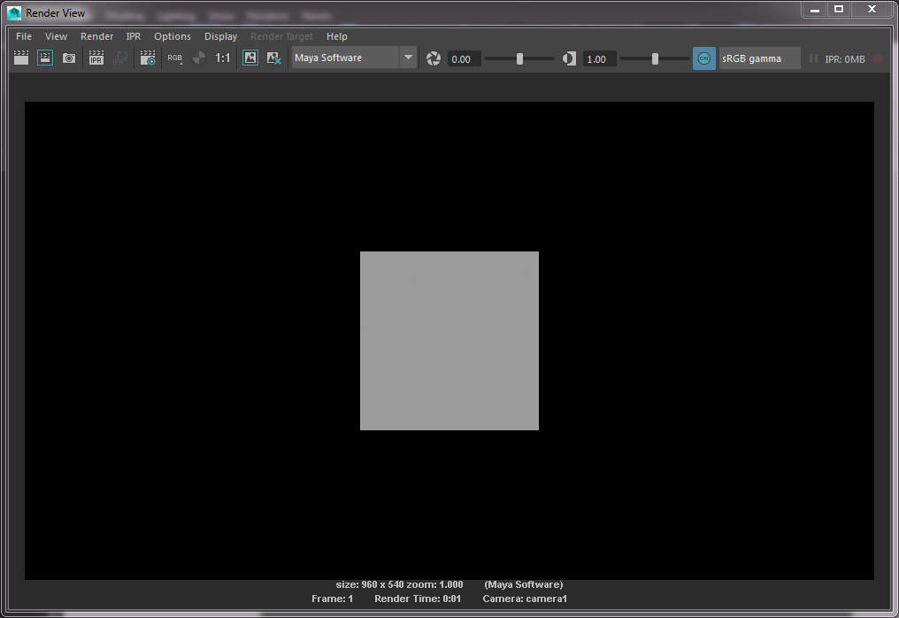 Q100363: Matching camera framing in Maya and Katana – Foundry
